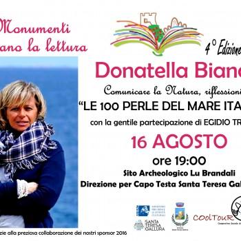 Locandina Donatella Bianchi