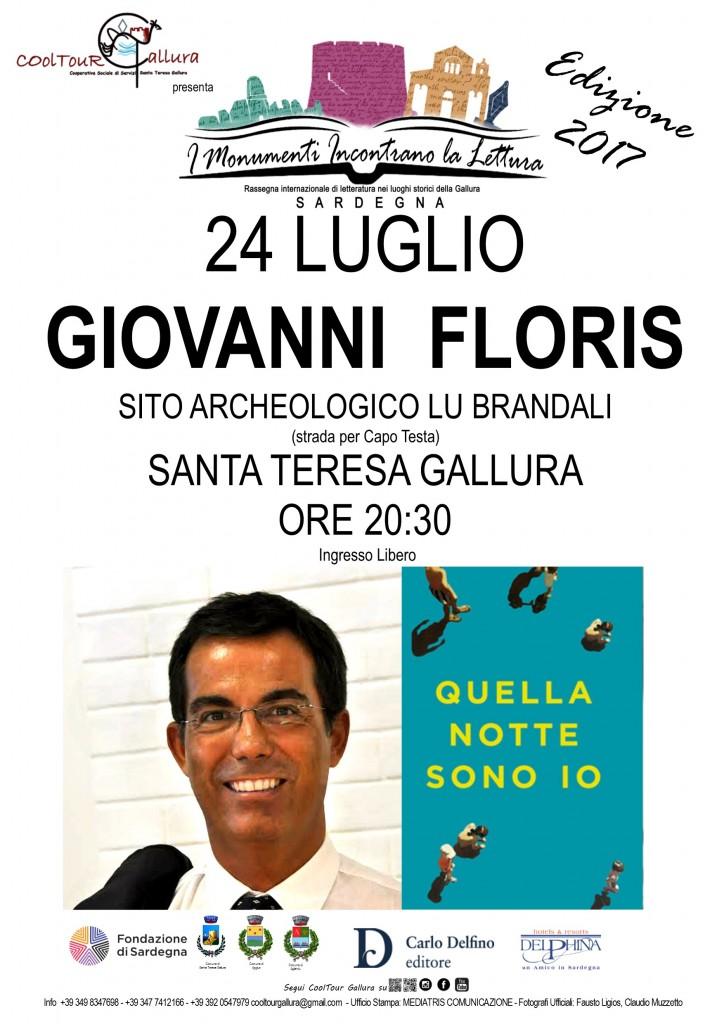 Locandina A3 Rassegna letteraria Floris