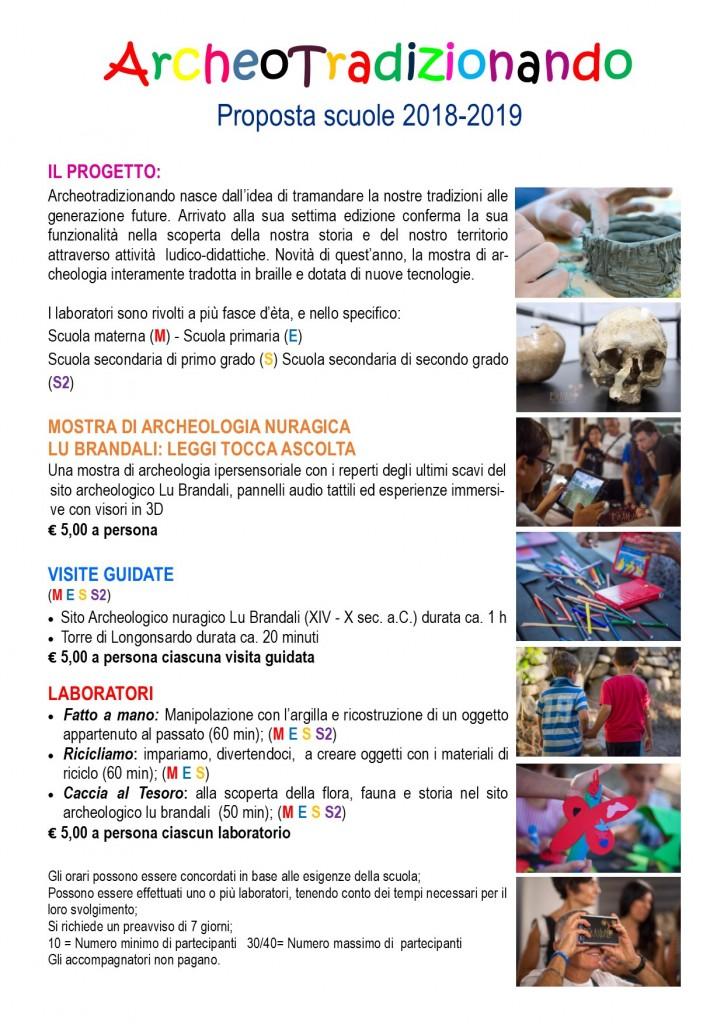 Proposte beni culturali Santa Teresa Gallura 2019