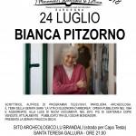Locandina A3 Rassegna letteraria Bianca Pitzorno