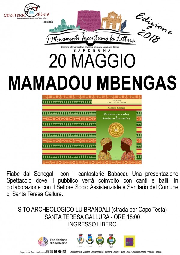 Locandina A3 Rassegna letteraria Mamadou