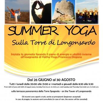 Locandina Yoga 2018