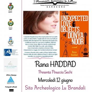 Locandina A3 Rassegna letteraria Rana Haddad