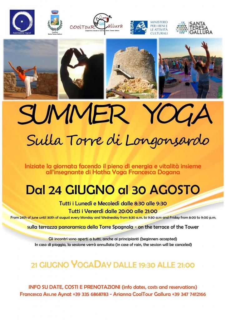 Locandina Yoga 2019